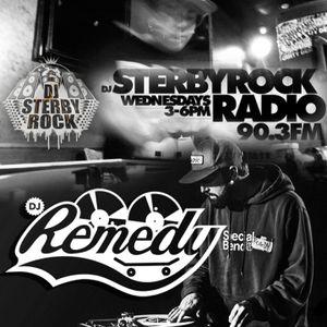 DJ STERBYROCK - STERBYROCK RADIO SHOW ft DJ REMEDY - LIVE ON 90.3fm WRIU - 04-08-2015