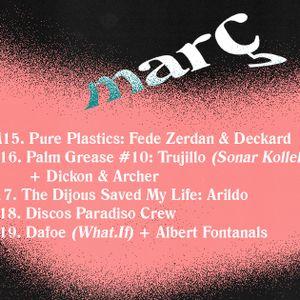 """Fede Zerdan & Deckard """"Pure Plastics""""@ Switch Pocket Club 15 Mar'16"""