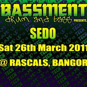 SEDO - LIVE @ BASSMENT 26.03.2011
