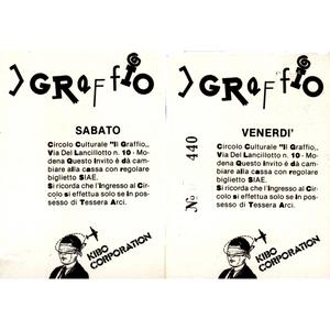 Graffio n.02 - DJ Aki Trax, 1987