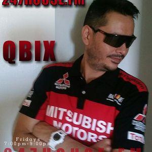 DJ QBIX LIVE@247HOUSE.FM DJK#268 PT.2 TECHNO 7-22-2016