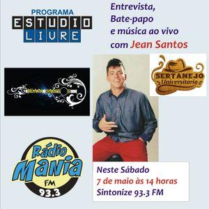 7° Edição do Estúdio Livre - com Jean Santos