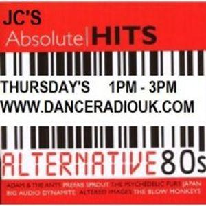 JC's Alternative 80's Show 22nd Nov