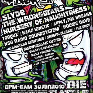 Disowned+MC Cutter@Graffiti Breakz 30th Jan 10'