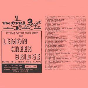 The Sixties: Ottawa Top 40 Chart: December 6th, 1968