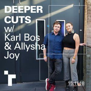 Deeper Cuts with Karl Bos - 15 November 2018