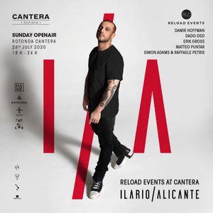 Erik Gross @Cantera // Reload Events w. Ilario Alicante