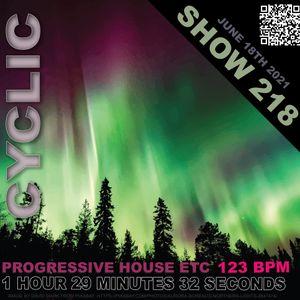 DJ Cyclic - Show 2018 part 1 of 3 Progressive