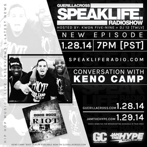 SPEAKLIFE Radio: Conversation with Keno Camp [Episode 8.3]