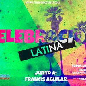 """""""Celebración Latina"""" Locutor: Francis Aguilar"""