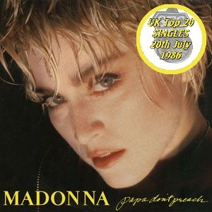 UK TOP 20 SINGLES for July 20th 1986