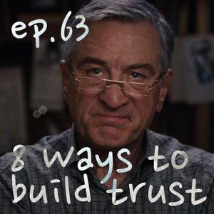 8 ways to build trust