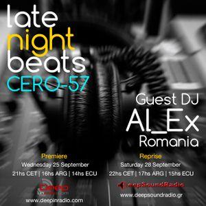 Late Night Beats 057 by Tony Rivera - Guest Mix Al_Ex (25.09.2013)