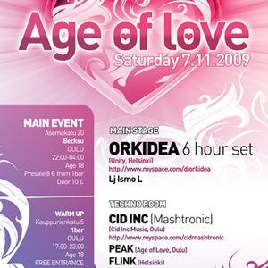 Cid Inc Live@Age Of Love Oulu 07.11.09