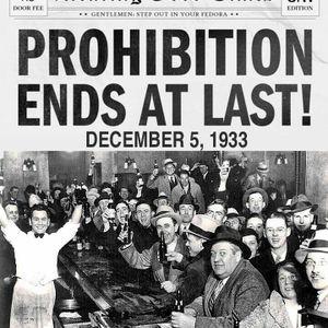 ביטול חוק היובש • 84 שנים