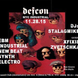 DJ Zvetschka @ Defcon, Pyramid Club, New York, New York - 112815