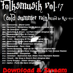 Folksmusik vol.17(cold summer rain)