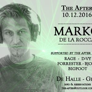 Bjorn @ The After invites Marko De La Rocca!! 10/12/16