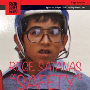 "REGE SATANAS 359 ""Safety"" @ Red Light Radio 04-10-2019"