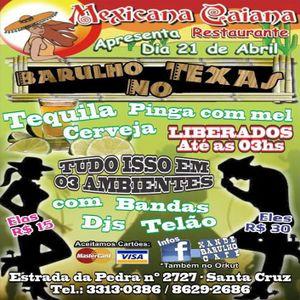 Bruno Torres DJ set mixado ao vivo 21-04-2012 Barulho no Texas editado sem vinheta