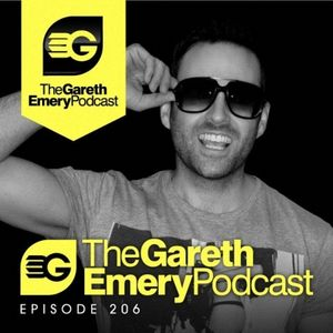 Gareth Emery – The Gareth Emery Podcast 206 (Recorded Live from The Warfield SF, USA) – 22.10.2012