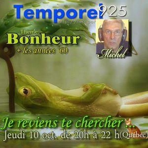 JE REVIENS TE CHERCHER (10 oct. 2013 - BONHEUR)