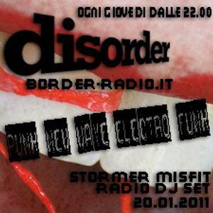 8. disorder 20.01.2011