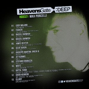 HeavensGate Deep EP321 - Sept. 2018 - Max Porcelli Minimal Deep Tech Mix