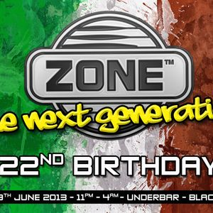 ZONE 22ND BIRTHDAY PRESENT 2013 - DJ SAM WHITE - FREE DOWNLOAD