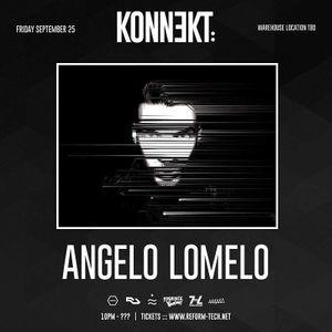 Angelo Lomelo @ KONNƎKT Los Angeles 25 - 09 - 2015