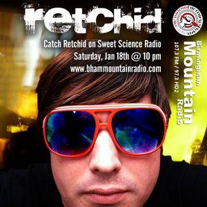 Retchid's Sweet Science Radio Mix 01/18/2014