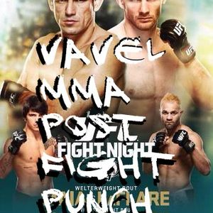 Vavel MMA Post Fight Punch UFC Fight Night 62 Maia vs LaFlare