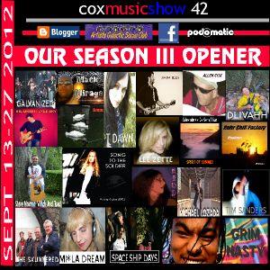 Cox Music Show  42 Season III Opener