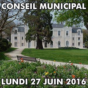 Conseil Municipal Louveciennes - Lundi 27 juin 2016