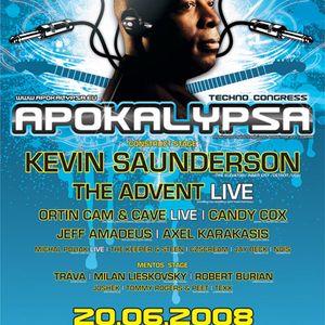 Live @ Apokalypsa 29 | main stage| Boby center  Brno| 20. 6. 2008