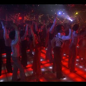 80s theme Disco