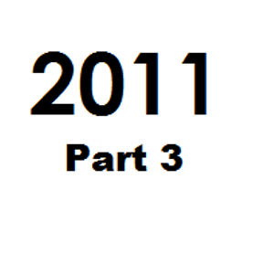 Great Tunes of 2011 - Part 3