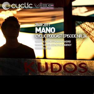 Cyclic Podcast Episode Nr 24 - Mano - 28.09.2011