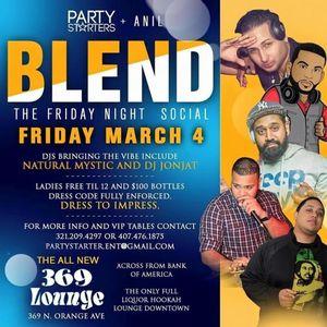 LIVE @ Blend