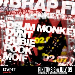 DVNT, live at Brap at Riki Tiks