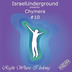 PodIUmix #10 - Right Where I Belong with Chymera