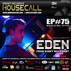 Housecall EP#75 (incl. a guest mix from Eden)