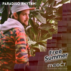 Paradiso Rhythm @ Moody Stage na Free Summer 2016