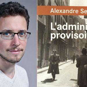 Alexandre Seurat  à la librairie Vent d'Ouest, Nantes, 23 septembre 20156  | entretien GB