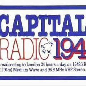 Capital Radio: 27/8/77: Kerry Juby's Breakfast Show 30 mins and Kenny Everett's Saturday Show 1 hour