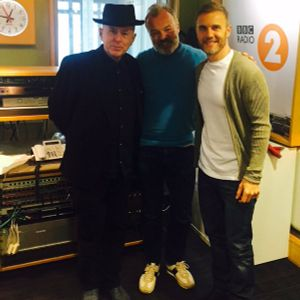 Holly Johnson & Gary Barlow - Radio 2