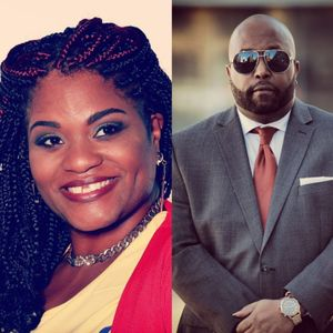 S1 EP 13 Community, Writing, and Finding Self with Corey Lamar Tanksley & Ebony Nicole Smith