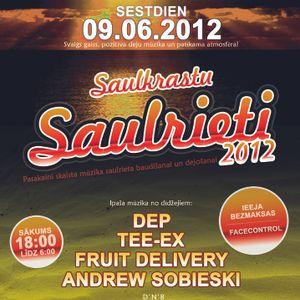 Extra bonuss! Dj Dep live @ Saulkrastu Saulrieti 2012 (Breaks) cut for cd version