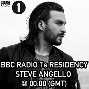 Steve Angello  -  BBC Radio1 Residency Incl Max Vangeli Guestmix - 06-Nov-2014
