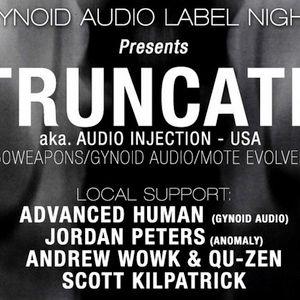 Scott Kilpatrick @ Gynoid Audio Label Night feat. Truncate.